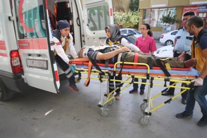 Konya'da düğün yolunda kaza: 5 yaralı