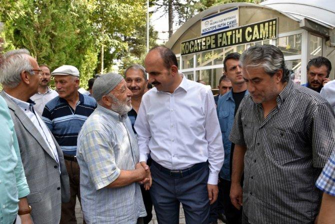 """Başkan Altay: """"Gücümüzü hemşehrilerimizden alıyoruz"""""""