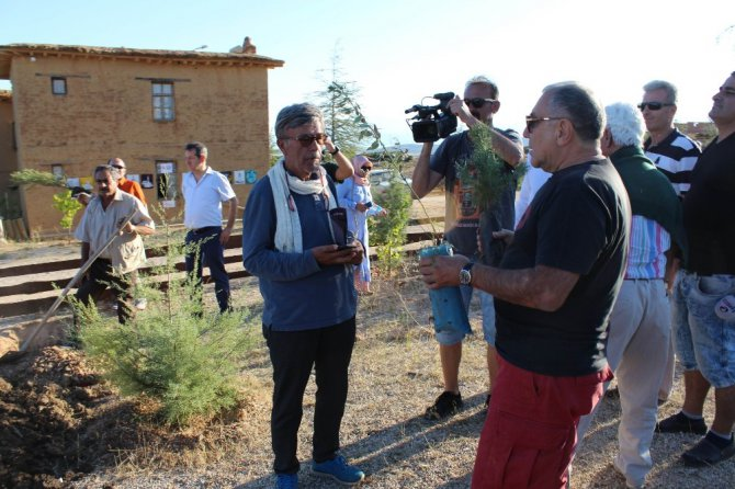 """Sanatçıların köyünde """"Yöresel Yabani Bitkiler Parkı"""" kuruluyor"""