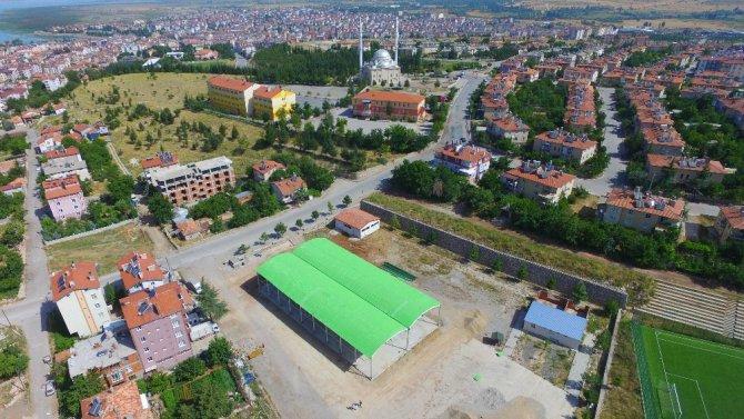 Beyşehir'de muhtemel afetlerde, toplanılacak alanlar belli oldu