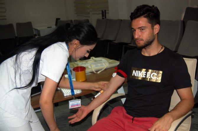 Atiker Konyasporlu futbolcular sağlık kontrolünden geçti