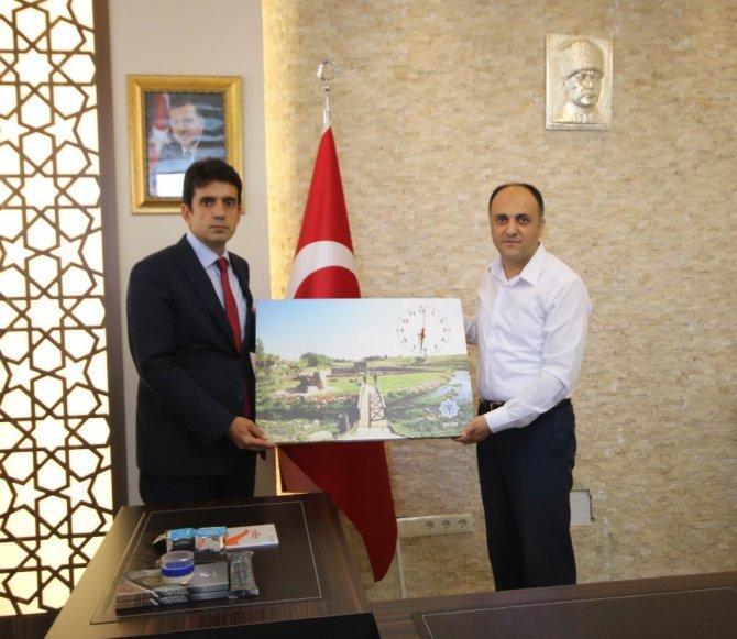 Konya Emniyet Müdürü Yaman, Beyşehir Belediyesini ziyaret etti