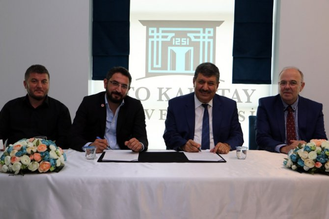 KTO Karatay Üniversitesi ile TÜMSİAD arasında protokol imzalandı