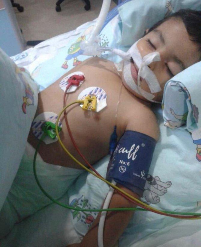 Küçük Hamza'dan ilk yaşam tepkisi umutlandırdı