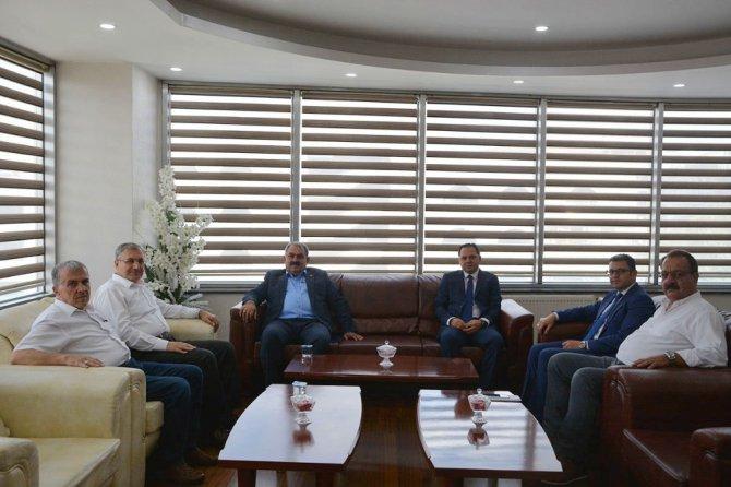 Milletvekili Etyemez'den KOnya SMMMO'ya ziyaret