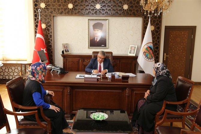 Aksaray'da halk günü toplantısı