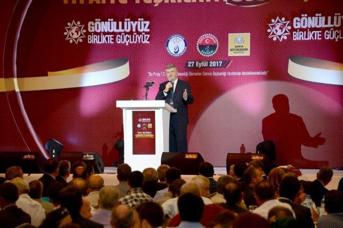 """Akyürek: """"Konya, gönüllü itfaiyecilik çalışmalarında Türkiye'ye örnek"""""""