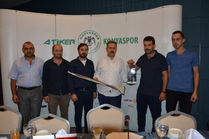 Zonguldaklı madenciler A.Konyasporun konuğu oldu