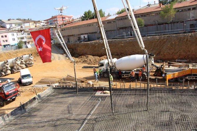 Seydişehir'de eski garaj ticaret ve konut projesinin temeli atıldı