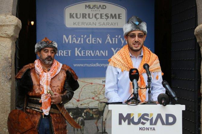 MÜSİAD Konya Şubesi tarihi ticareti canlandırdı