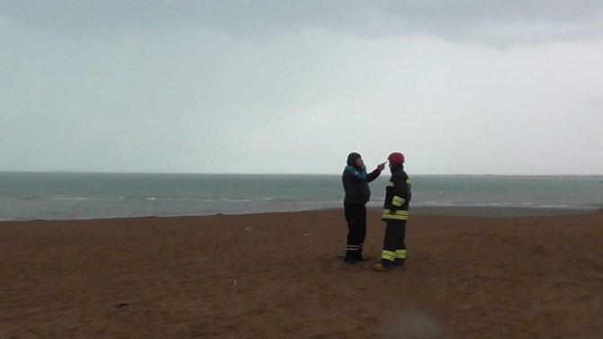 Beyşehir Gölü'nde bir teknenin alabora olduğu ihbarı ekipleri harekete geçirdi