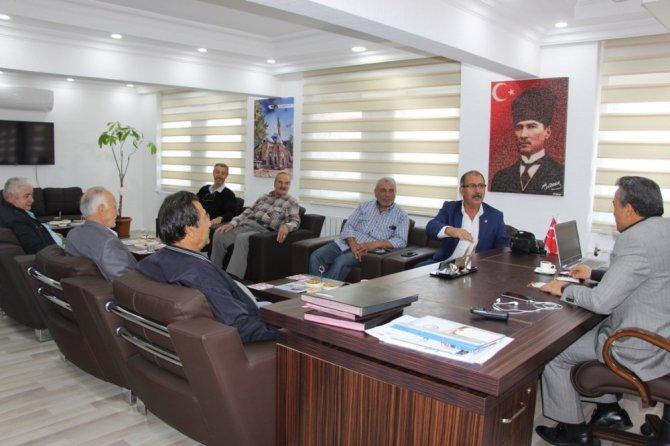 Vatandaşlardan Başkan Tutal'a ziyaret