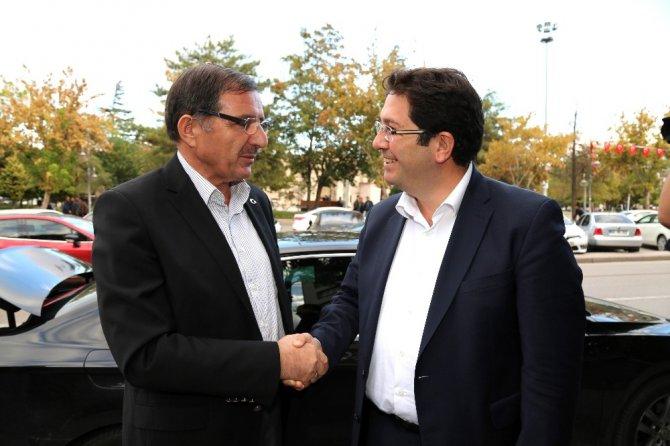 AK Parti Yerel Yönetimler Başkan Yardımcısı Şeker, Başkan Yazgı ile görüştü