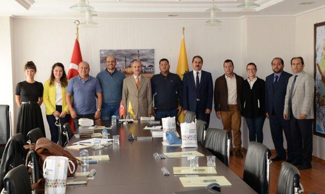 Kolombiyalı Belediye Başkanları Büyükşehir'in yatırımlarını inceledi