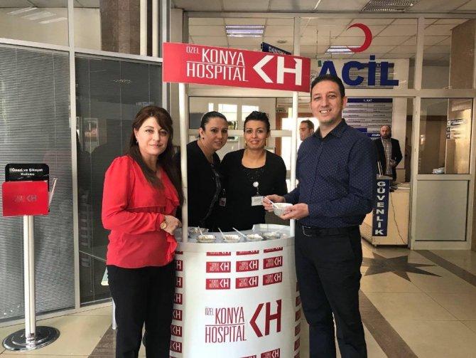 Konya Hospital'den aşure ikramı