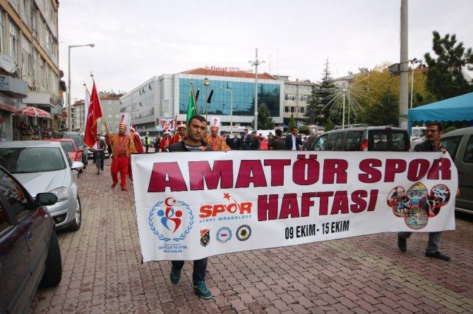 Beyşehir'de Amatör Spor Haftası kutlamaları