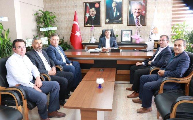 Damızlık Birliği Başkanı Kayan AK Parti İl Başkanı Altınsoy ile görüştü