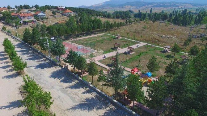 Beyşehir'de şehit ismini taşıyan park yeniden dizayn edildi