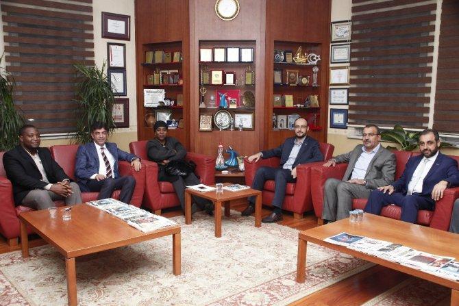 MÜSİAD Konya Şubesi Nijer Büyükelçisini ağırladı