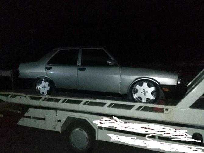Aksaray'da modifiyeli araçlara 16 bin 993 TL ceza