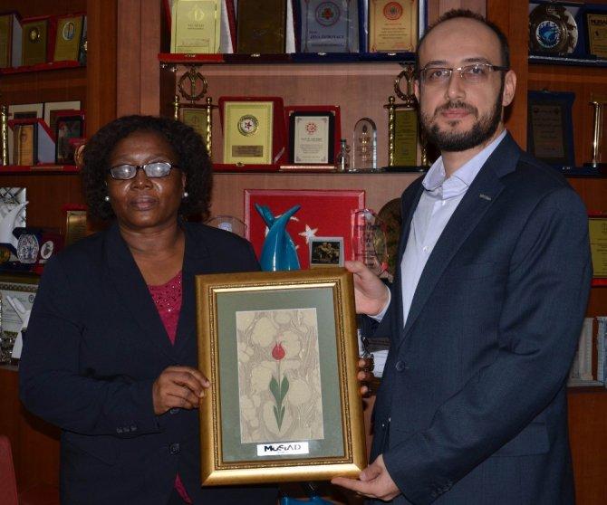 MÜSİAD Konya Şubesi Tanzanya Büyükelçisini ağırladı