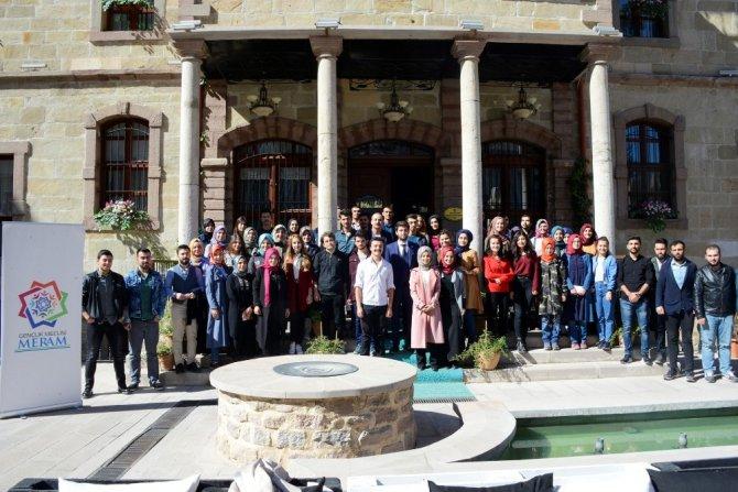 Meram Gençlik Meclisi'nde oryantasyon programı