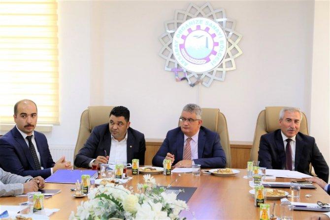 Aksaray OSB Müteşebbis Heyeti toplandı