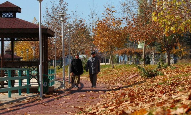 Beyşehir Gölü Milli Parkı'nda kartpostallık görüntüler