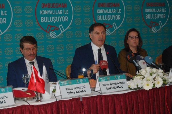 """Şeref Malkoç: """"Biz vatandaşın avukatıyız"""""""