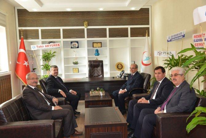 Başkan Akyürek'ten İl Sağlık Müdürü Koç'a ziyaret