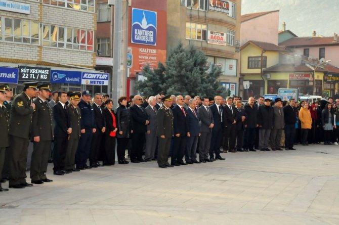 Akşehir'de 10 Kasım Atatürk'ü anma etkinlikleri