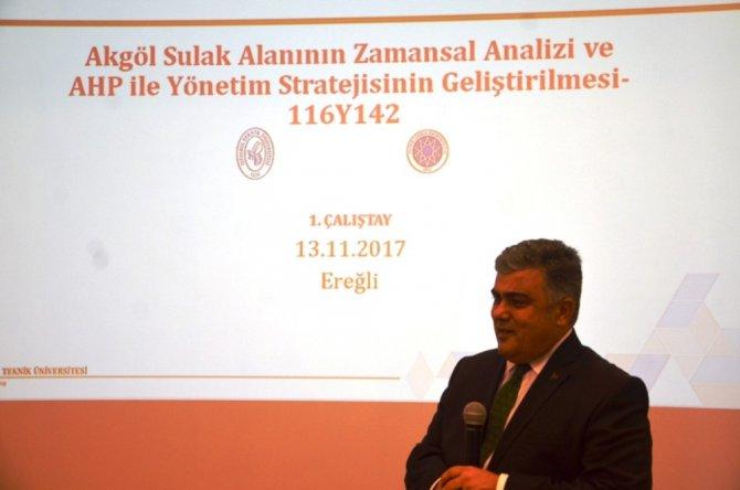 Ereğli'de Akgöl Çalıştayı yapıldı