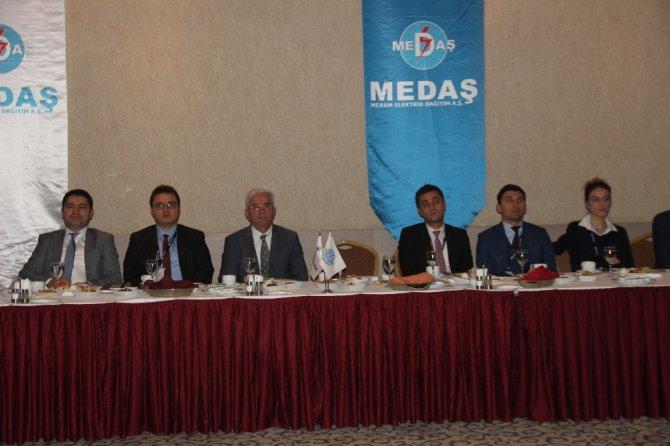MEDAŞ Konya'da basın mensuplarıyla bir araya geldi