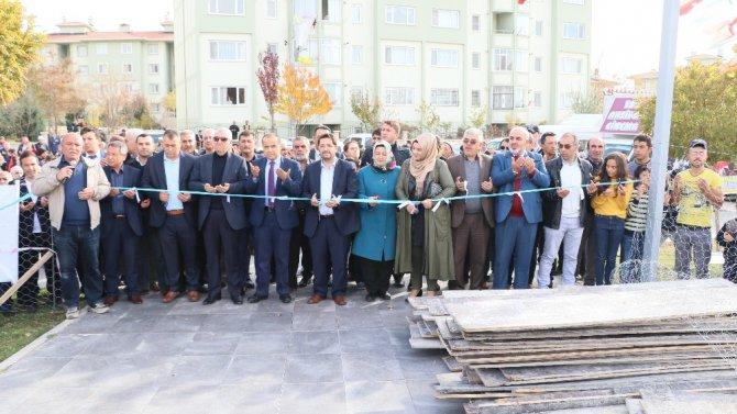 Aksaray'da ikinci kadın aktivite merkezinin temeli atıldı