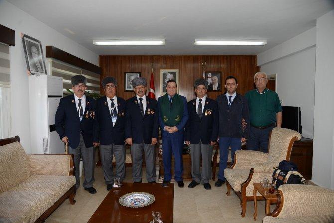 Kıbrıs 43 yıl sonra Konyalı Gazileri ile buluştu