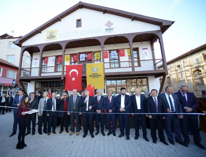 (Güncelleme) Başkan Akyürek, Bozkır yatırımlarını inceledi
