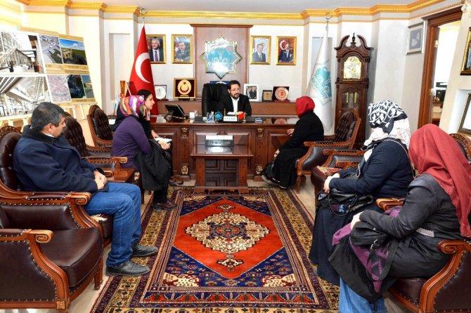 Başkan Yazgı, Halk Gününde vatandaşlarla görüştü