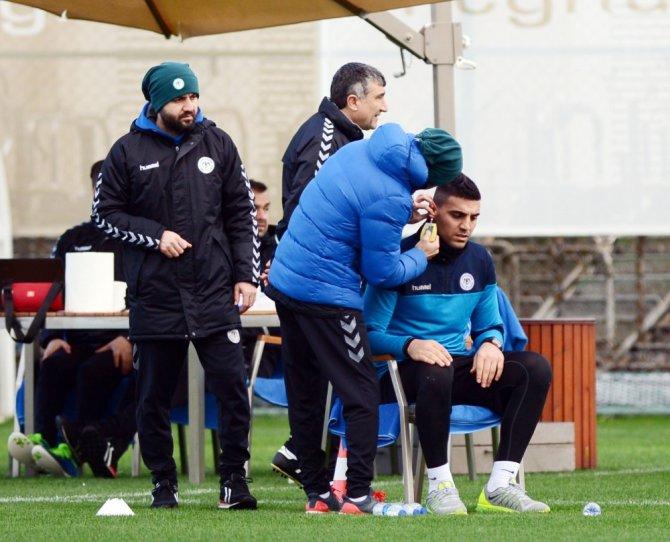 A. Konyaspor laktat testinden geçti