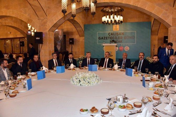 Büyükşehir, Konya'daki basın-yayın çalışanlarını buluşturdu