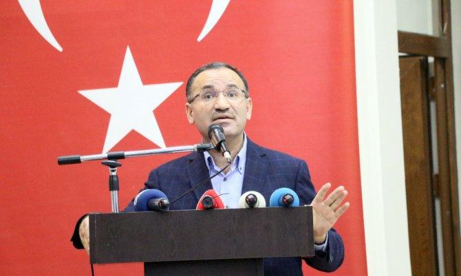 """Başbakan Yardımcısı Bekir Bozdağ: """"PKK, DEAŞ ne ise YPG, PYD FETÖ terör örgütüdür, bunların sadece ambalajları farklıdır"""""""