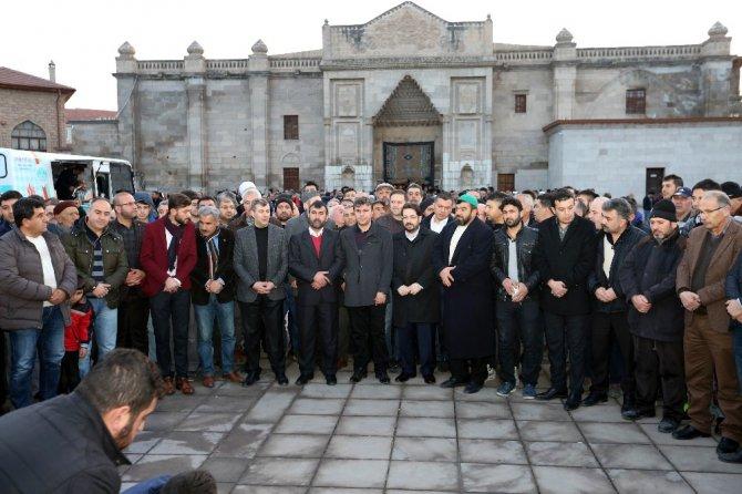 Aksaray'dan Zeytin Dalı Harekatına anlamlı destek