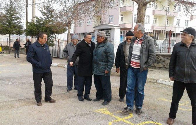 Başkan Tutal, mahalle gezilerine devam ediyor