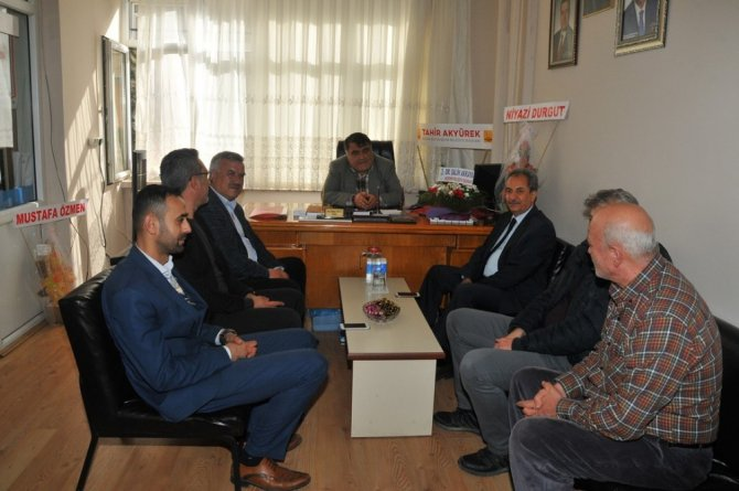 Başkan Akkaya'dan esnaf odalarına ziyaret