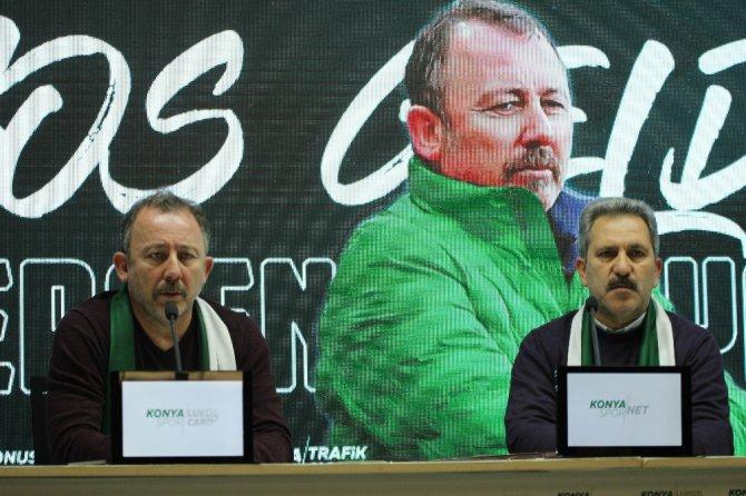 Atiker Konyaspor'da Sergen Yalçın dönemi