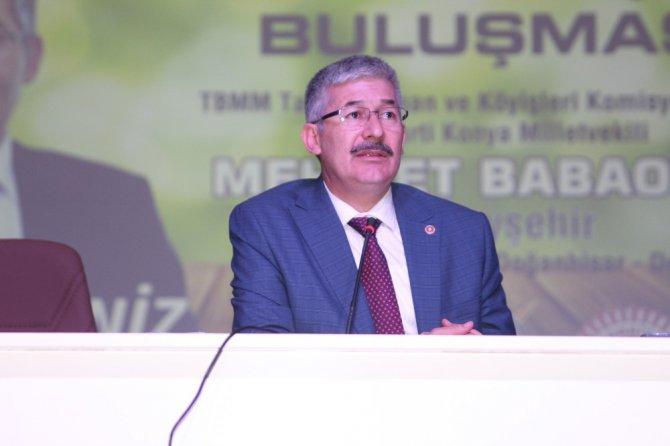 Beyşehir'de muhtar ve çiftçi buluşması