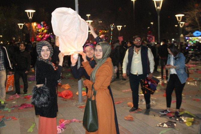Konya'da fener alayı coşkusu