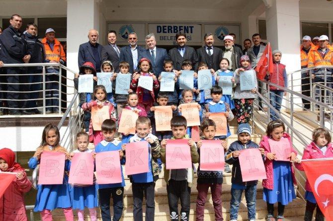 """Akyürek: """"Aladağ Projesi Derbent'e çağ atlatacak"""""""