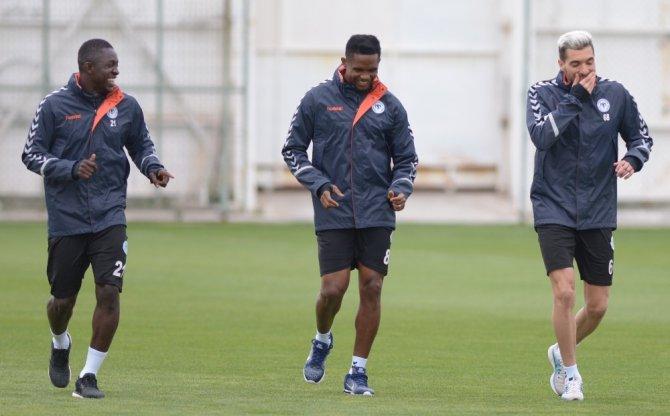 Atiker Konyaspor, Antalyaspor maçı hazırlıklarına başladı