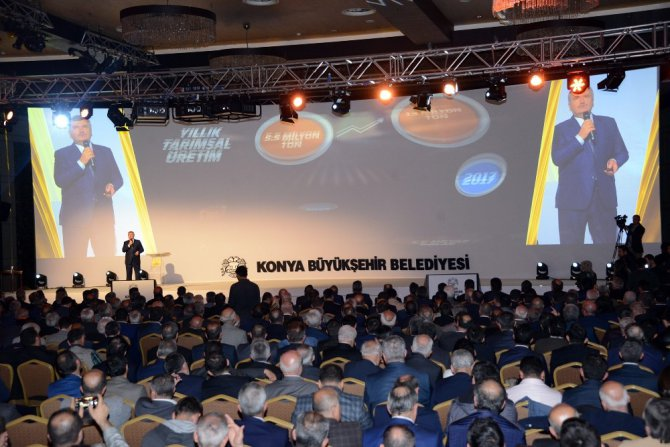 Başkan Akyürek 14 yıllık hizmet ve yatırımları anlattı