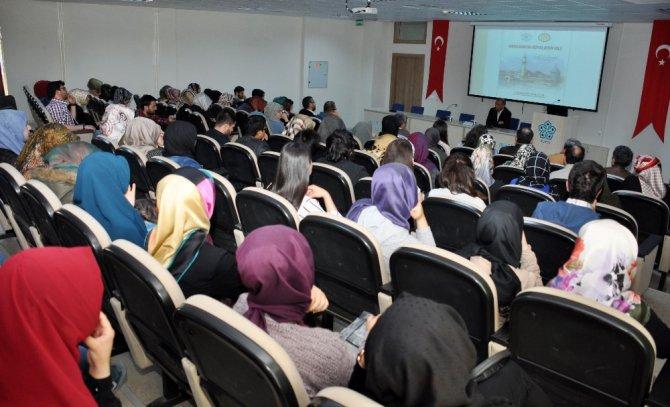"""NEÜ'de """"Mevlana'da Rüyaların Dili"""" konulu konferans düzenlendi"""